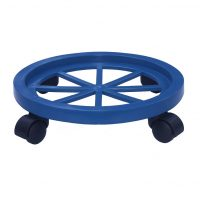 4 Wheel Gas Stand Blue